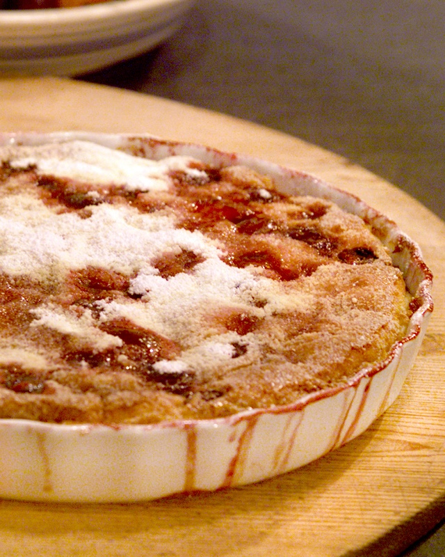 Cherry Clafouti === Clafouti, a rustic French dessert, is made of ...
