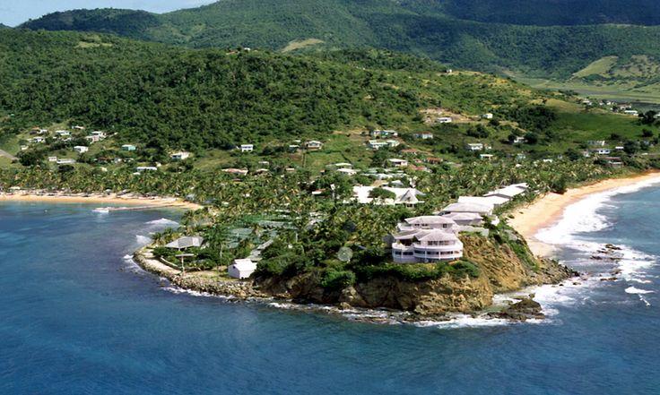 Curtain Bluff Aerial View Antigua Hotels