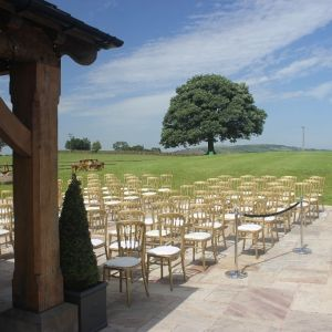 Heaton House Farm Outdoor Ceremony Cheshire Wedding Venue Oak Paa Tree