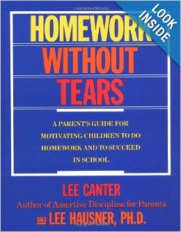 homework without tears parent s guide