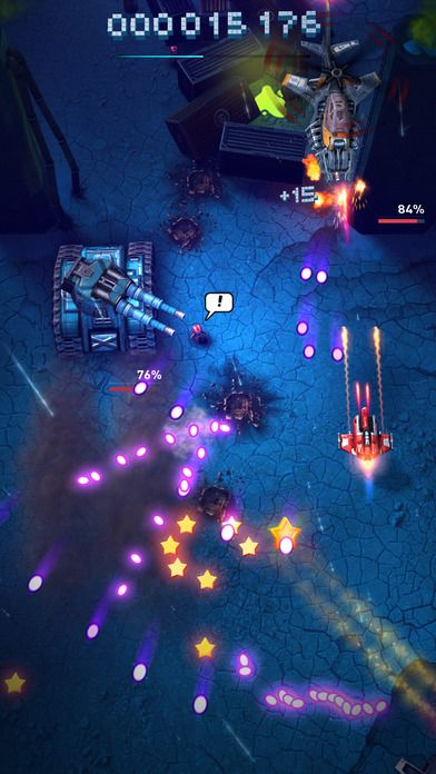 Sky Force Reloaded - a fun and beautifully designed scrolling shooter game.