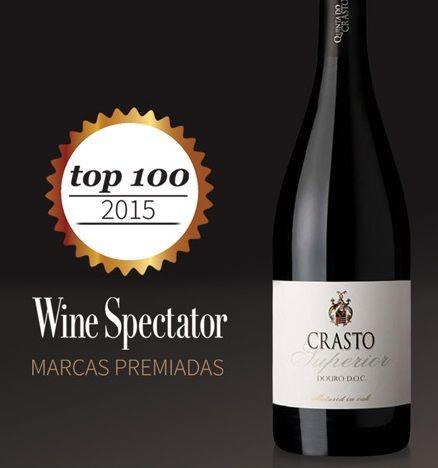 Crasto Superior 2014 Red Wine in der Top 100 im Jahr 2015