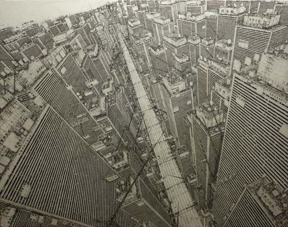 Daisuke Tajima's Images Of The Ultra-Detailed Cities That Live Within His Mind