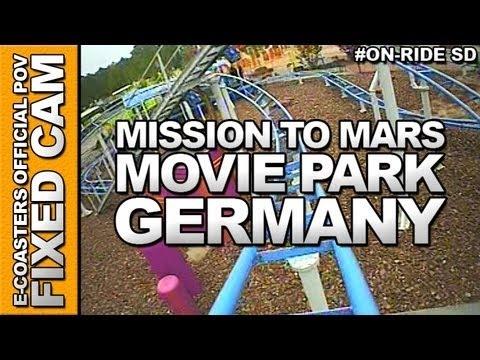 Vidéo embarquée du roller coaster The Barkyardigans - Mission To Mars situé dans le parc d'attraction Movie Park Germany en Allemagne. N'hésitez pas à venir découvrir sur notre channel Youtube, nos plus de 200 vidéos On-Ride : http://www.youtube.com/ecoasters !!