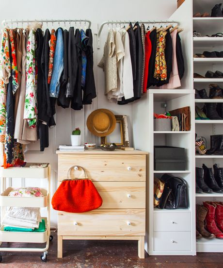 18 Classy Closet Storage Solutions For Your Clothes: How To Organize An Awkward Closet