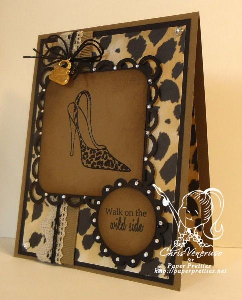 PWC259 Sassy Shoes by cveneruso - Cards and Paper Crafts at Splitcoaststampers