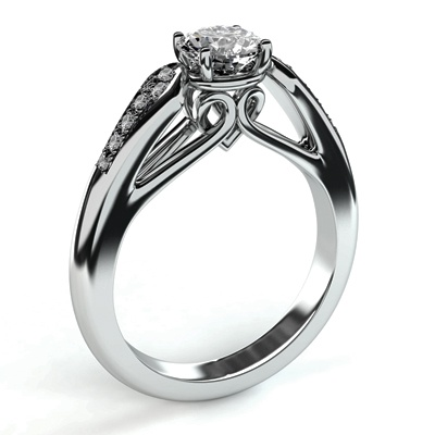 17 Best Images About Round Engagement Rings On Pinterest