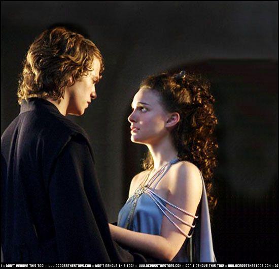 *ANAKIN SKYWALKER (Hayden Christensen) & PADME' AMIDALA (Natalie Portman) ~ STAR WARS:
