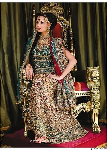 Beautiful Indian royalty. (J49 by Dulhan Pictures, via Flickr)