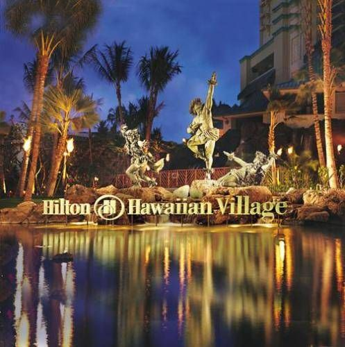 Hilton Hawaiian Village Hmmmm maybe I will run into Steve McGarret and Dano there