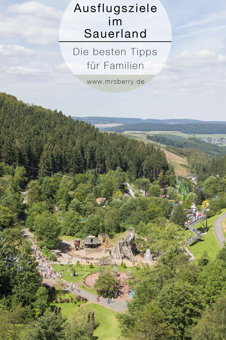 In nur einer Woche Urlaub im Sauerland haben wir so viele tolle Ausflugsziele für Familien besucht, dass ich euch diese hier weiterempfehlen möchte.  Wir Kölner haben das schöne grüne Sauerland ja quasi ums Eck liegen und können auch für einen Tages- oder Wochenendausflug mal hinfahren, aber auch für eine weitere Anreise und einen Urlaub mit Familie ist das Sauerland sehr zu empfehlen.