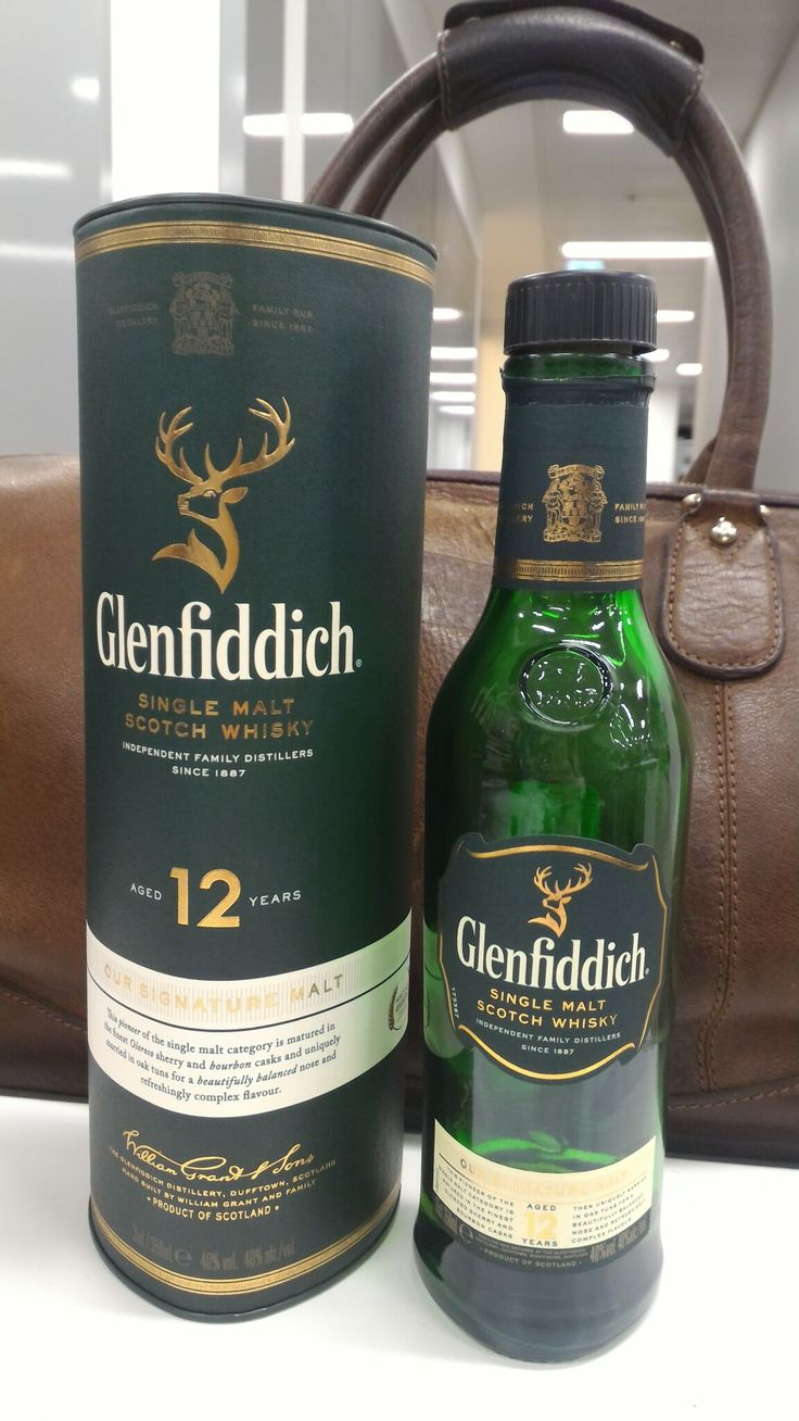 Glenfiddich, Single Malt,12 years, Scotland.