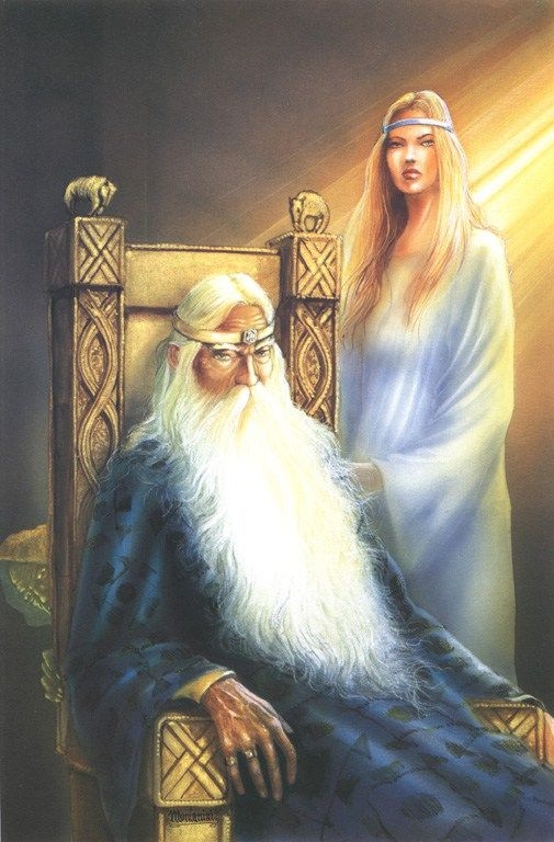 """Angelo Montanini: Theoden and Eowin """"The Two Towers"""""""