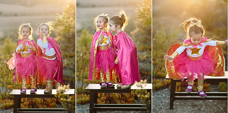 Homemade Superhero Costume - Mirelle Carmichael Photography