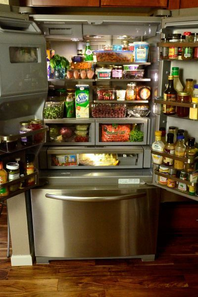 KitchenAid French-Door Refrigerator - @Sandy | Reluctant Entertainer for @KitchenAid