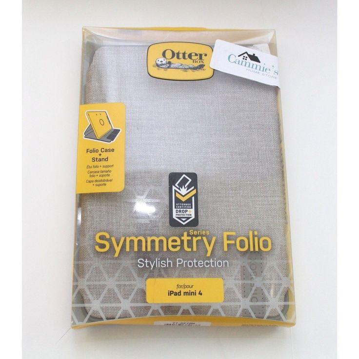 Otterbox SYMMETRY SERIES FOLIO Case for iPad Mini 4 - Retail Packaging - GLACIER