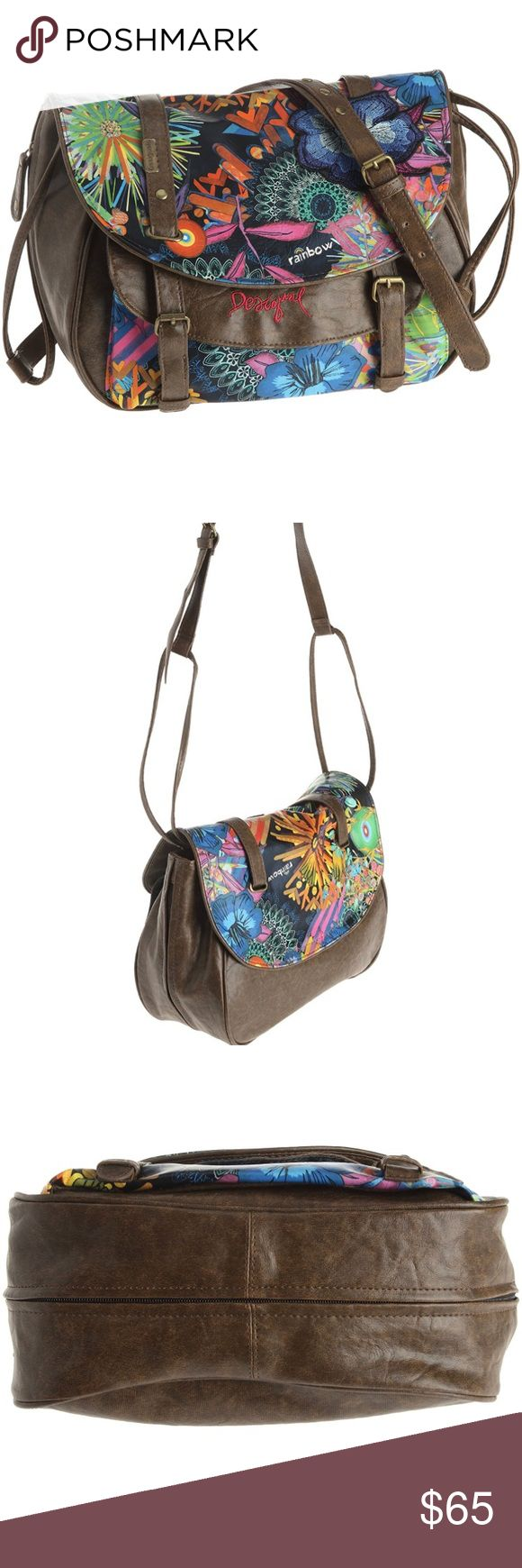Desigual Bols Bandolera Stella Bag New Desigual brand. The tag fastener is still on the bag but the tag fell off. This is new, never used. Gorgeous colorful print! You will get so many compliments with this bag! Currently on Amazon for $114 Desigual Bags Shoulder Bags