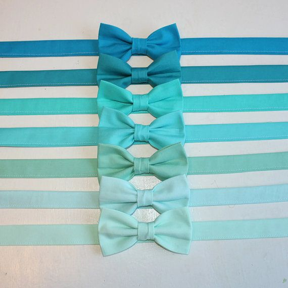 Turquoise, Mint, Aqua, Seafoam, Teal Bow Tie kids, toddler, baby, boys, ringbearer, wedding, photoshoot, Mint Wedding
