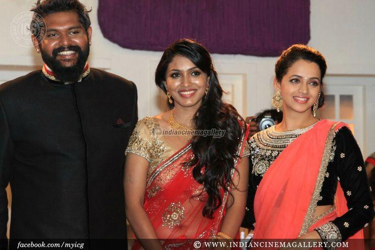 Bhavana Menon at Jean Paul Lal Wedding Reception