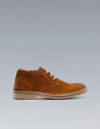 BOTÍN DESERT - Zapatos - Hombre - ZARA