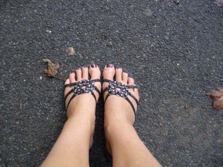 Meget trætte fødder i New York