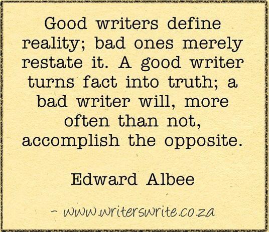Quotable - Edward Albee