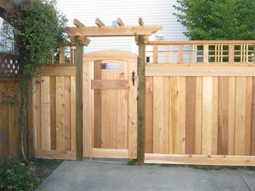 craftsman style fence design ideas pictures remodel and decor