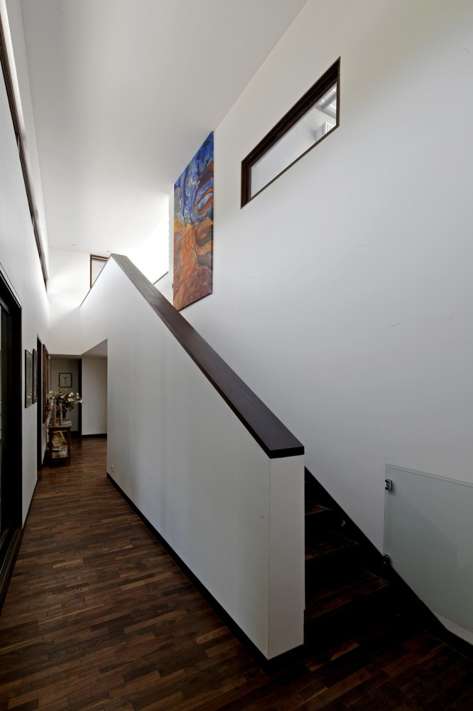 Stairs of apartment architecture and building design