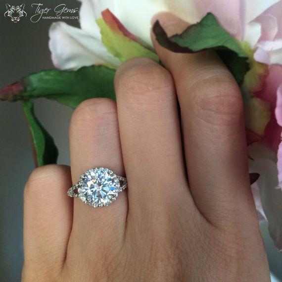 best 25 3 carat engagement ring ideas on pinterest 7 carat diamond ring rose gold square. Black Bedroom Furniture Sets. Home Design Ideas