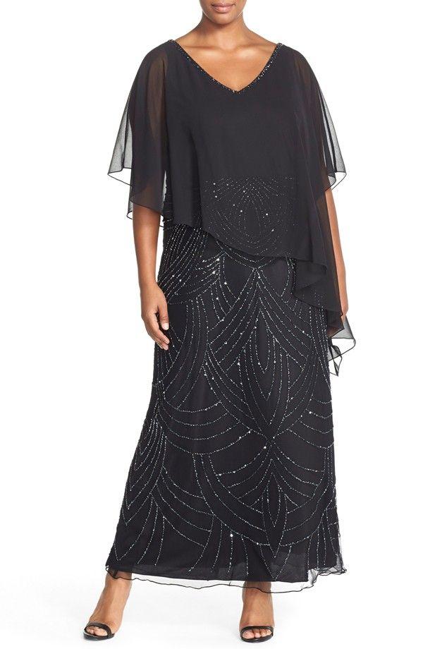 Slimming, Elegant Plus Size Mother Of The Bride Dresses