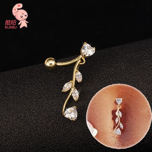 Compare Prices on Diamond Belly Button Ring- Online Shopping/Buy ...
