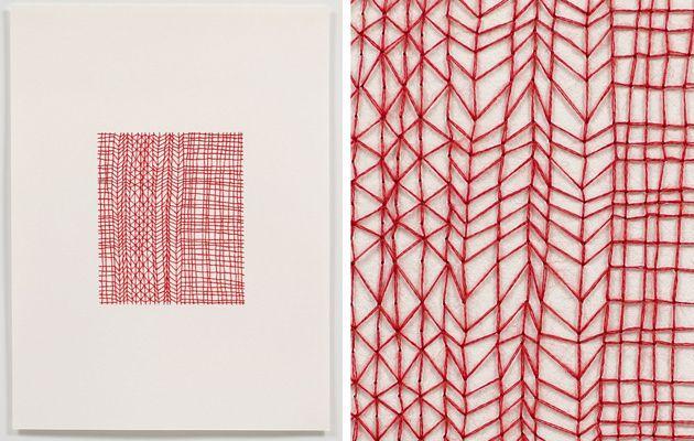 : Patterns, Emily Barletta, Artists 101, Paper Art, Artists Inspiration, Paper Work, Amazing Artists, Embroidery Inspiration, Barletta Thread