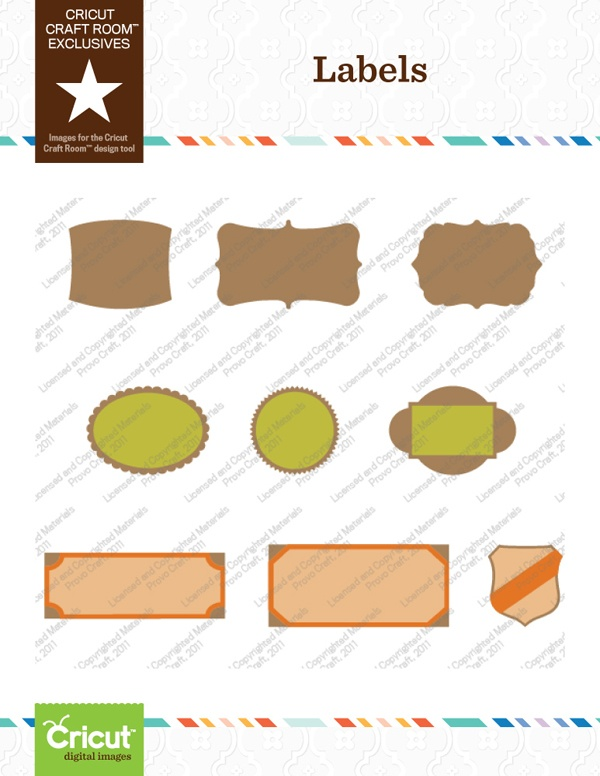Cricut Craft Room Exclusive: Labels Part 41