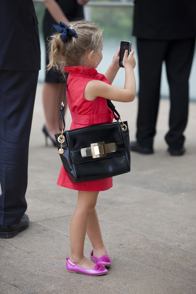 When I have a daughter, I'm giving her a real purse. And I am going to find that dress.