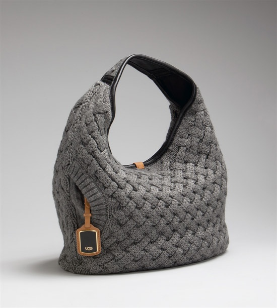 Sweater purse...maybe the only Ugg I love!