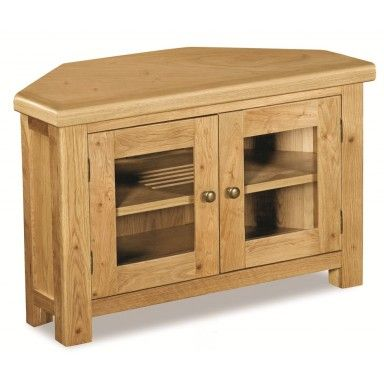 Carbis Oak Corner TV Unit