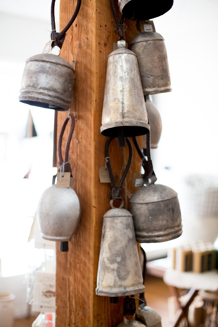 Temple bells made from reclaimed materials.  Photography by Sachin Khona