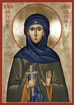 St. Eugenia Orthodox Icon