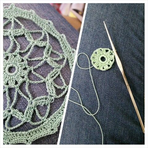 Coaster doily. Pattern from a New Idea in 1973