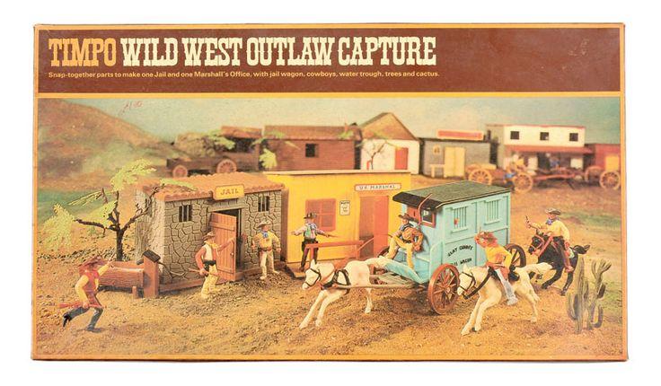 Timpo - Wild West Range, Set 256   Vectis Toy Auctions