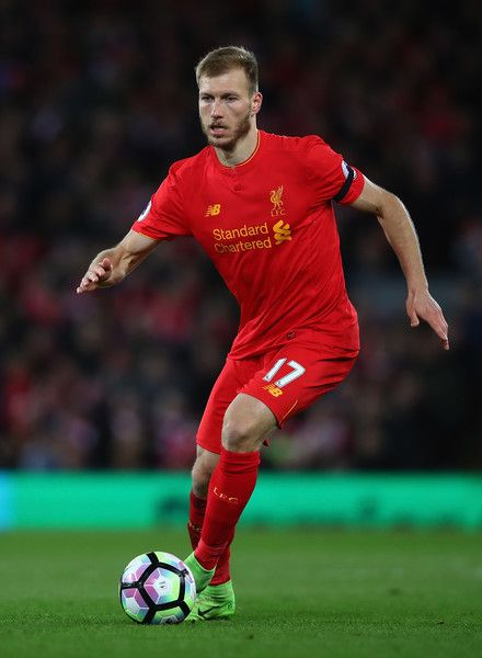 Ragnat Klavan of Liverpool in action during the Premier League match between Liverpool and AFC Bournemouth at Anfield on April 5, 2017 in Liverpool, England.