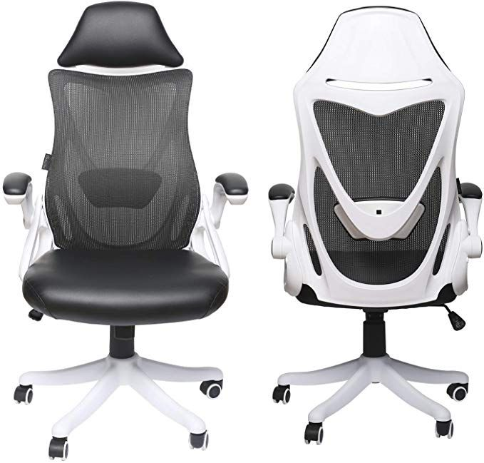 13+ White office chair adjustable arms information