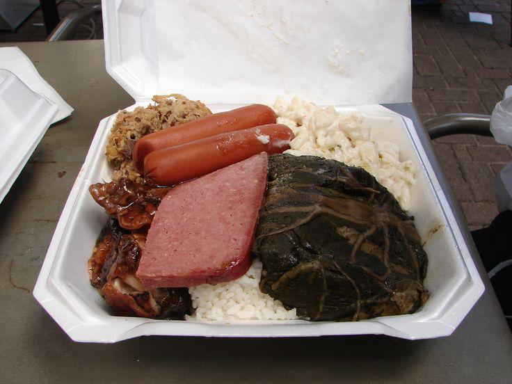 Hawaiian Plate Lunch (@Masu's)