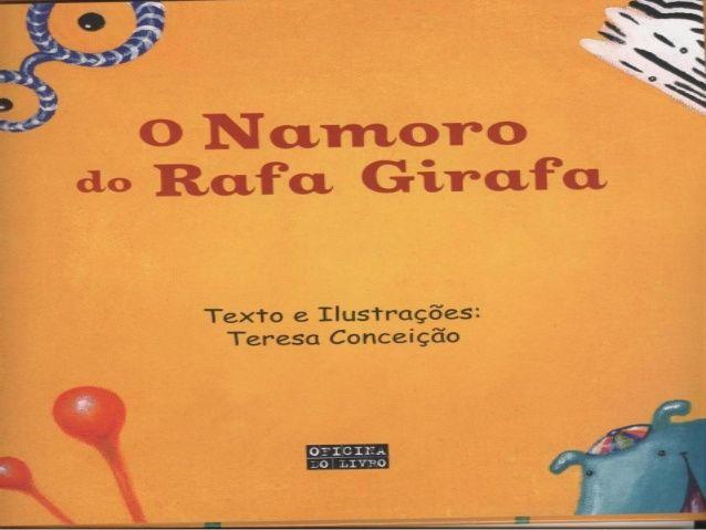 Rafa Girafa está namorando   – histórias para educação