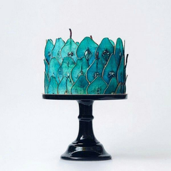 Blue Pear cake