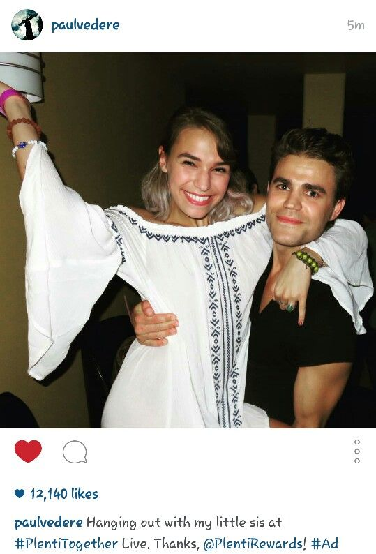 17 Best images about Paul Wesley & His Sisters on ...