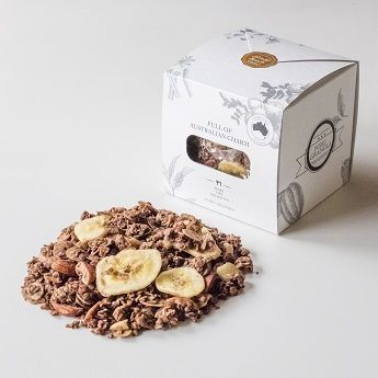 おはようございます。連休が続いて、なんだかボーっとする朝は、優しくておいしいチョコバナナ味の手作りグラノーラがおすすめですよ。 #minne本日のおすすめ #おいしいミンネ