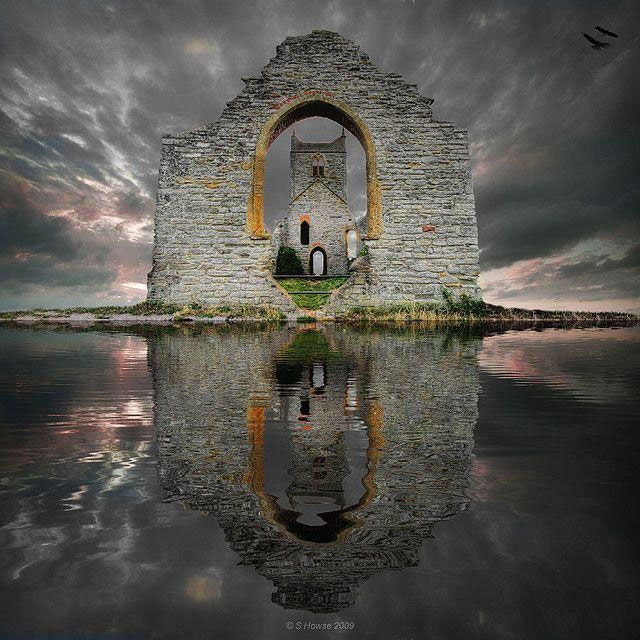 Castelo em ruÃinas - Escócia