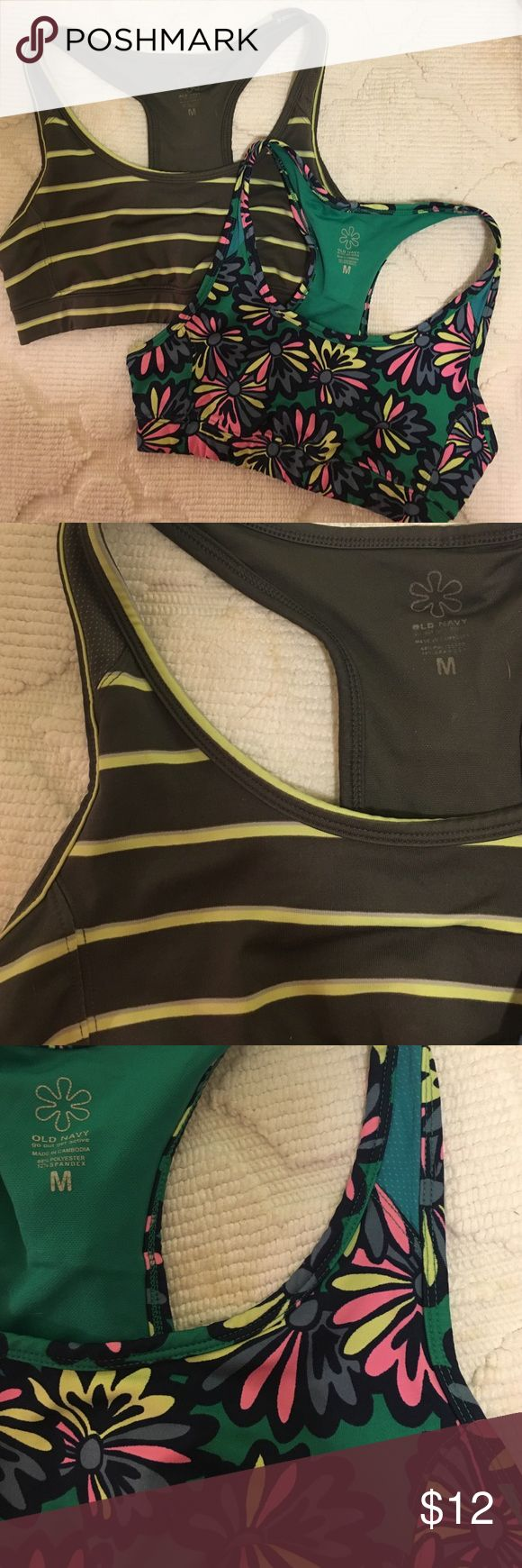 Lot of 2 Old Navy Sports Bras 2 Old Navy Sports Bras. Good condition. No padding Old Navy Intimates & Sleepwear Bras