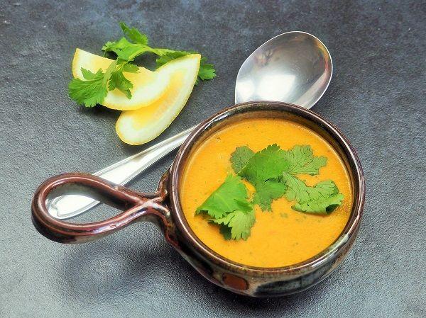Coconut Dahl soup